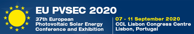 37th European Photovoltaic Solar Energy  Conference and Exhibition (EU PVSEC 2020)