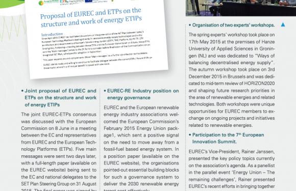 EUREC Highlights 2015