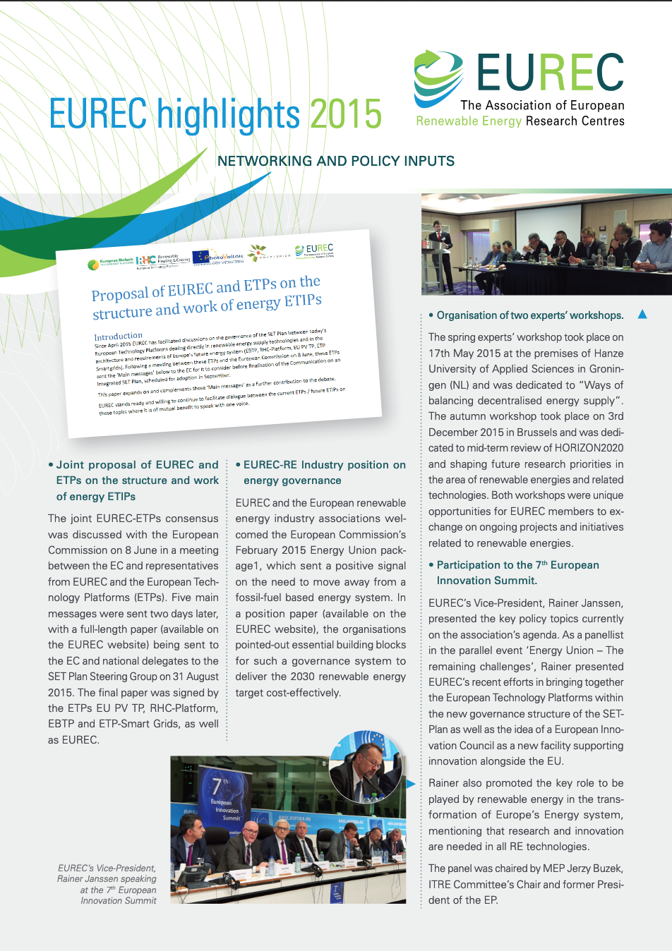 EUREC Highlights 2015