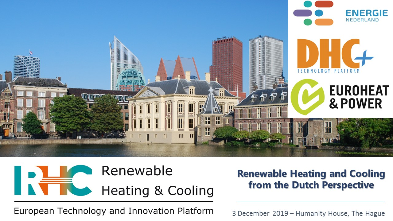 Workshop renewable heating and cooling from the dutch perspective