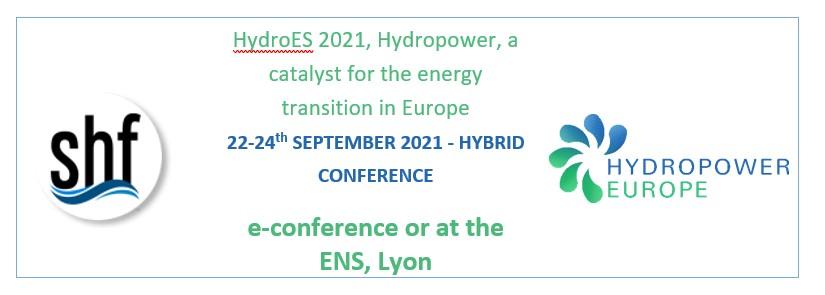 HydroES 2021, Hydropower, a catalyst for the energy transition in Europe