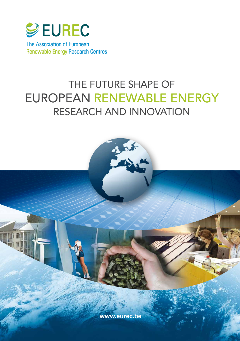 The Future Shape of European Renewable Energy Research and Innovation