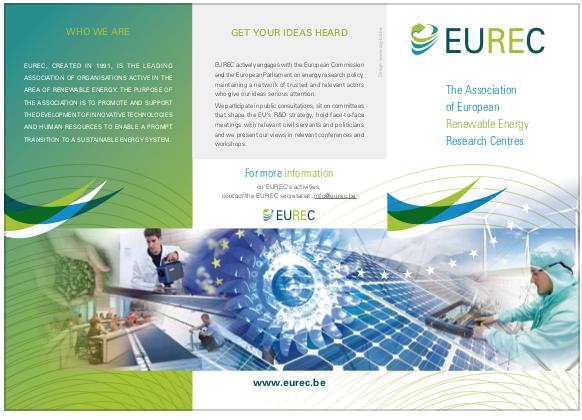 EUREC Leaflet 2016